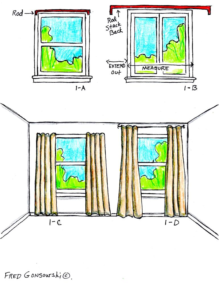 The Right Way to hang Curtains and Drapes. (1/2)