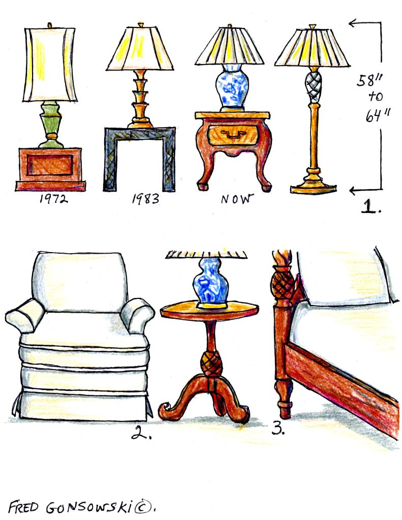 The Right Height Of A Table Lamp For Your End Table