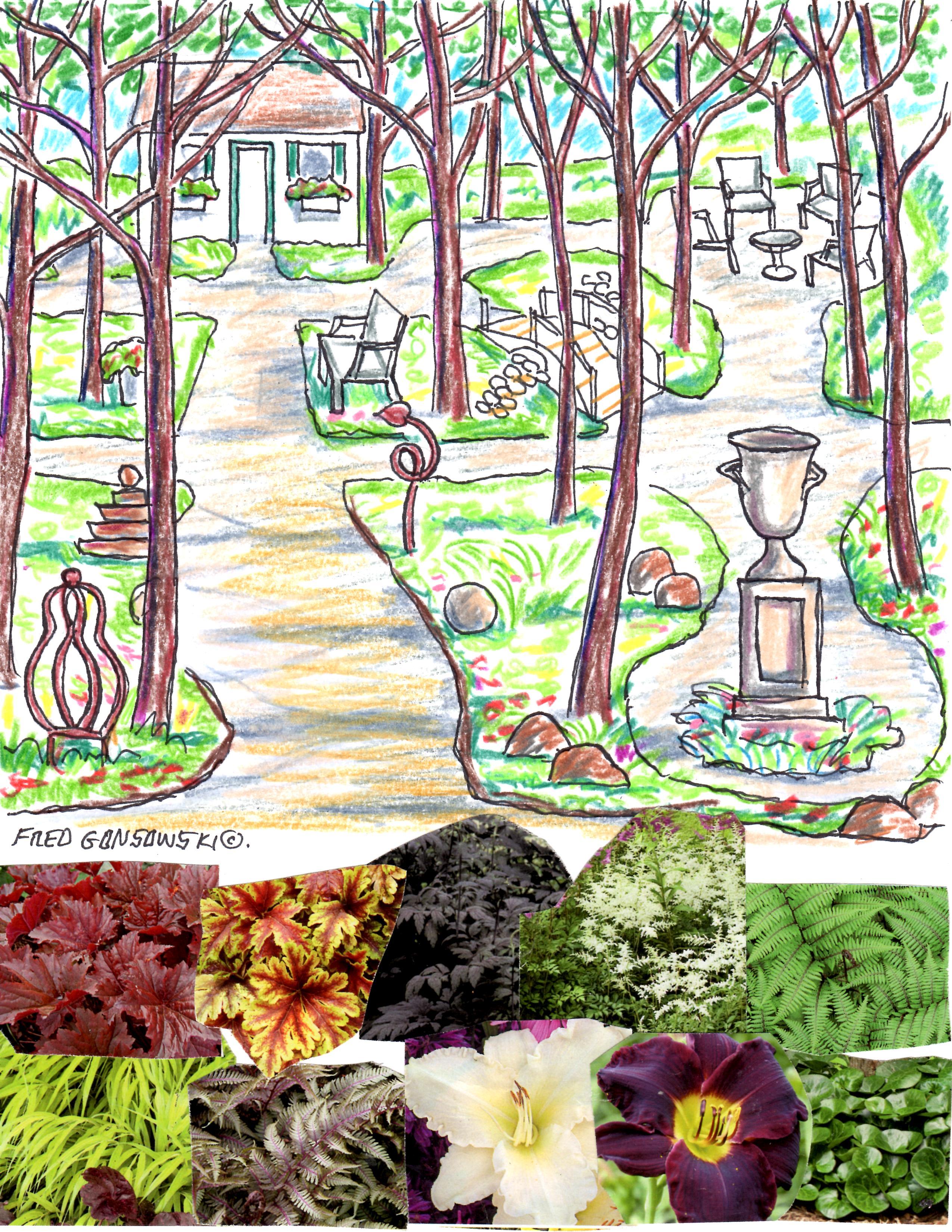 Designing A Shade Garden
