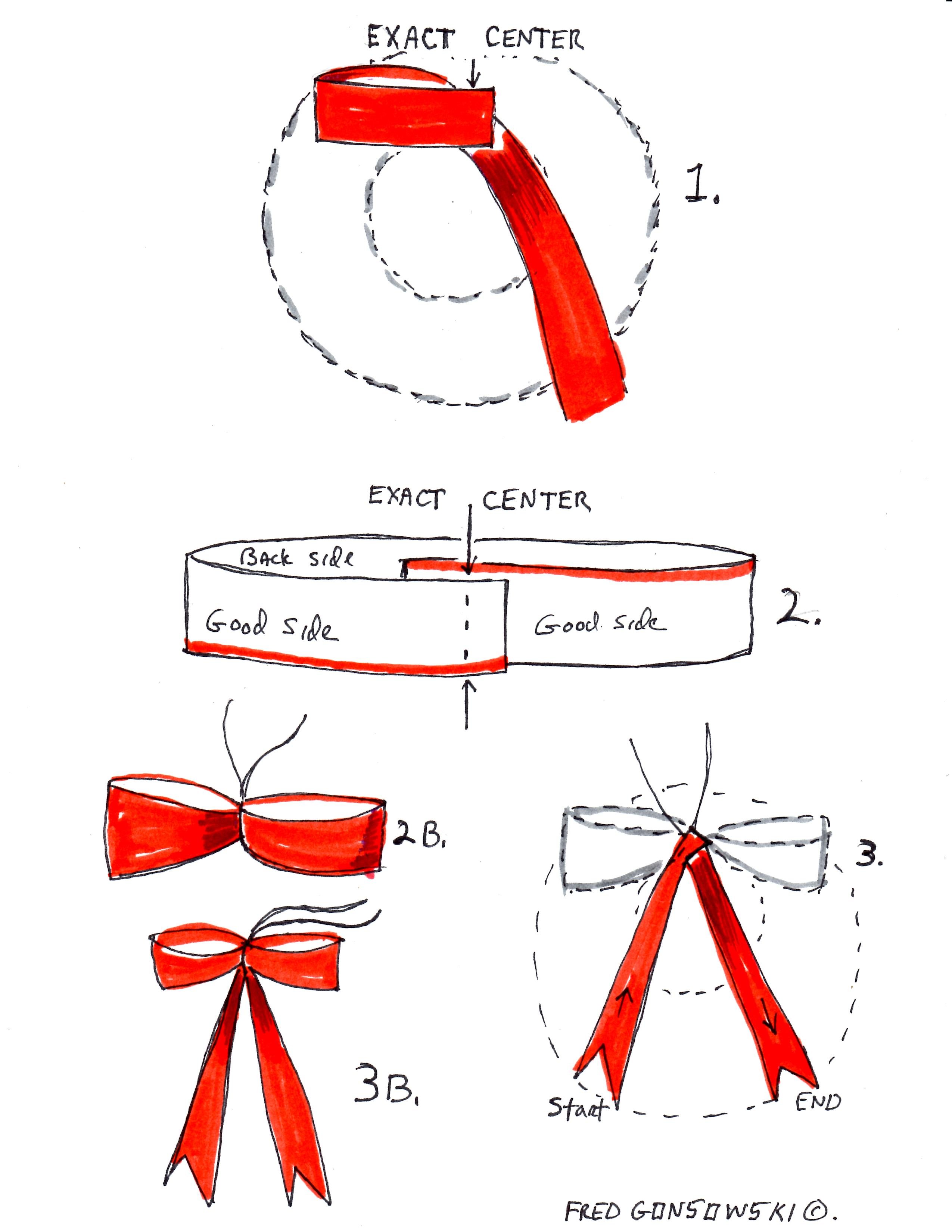 It's EASY to make a Bow for your Christmas Wreath!