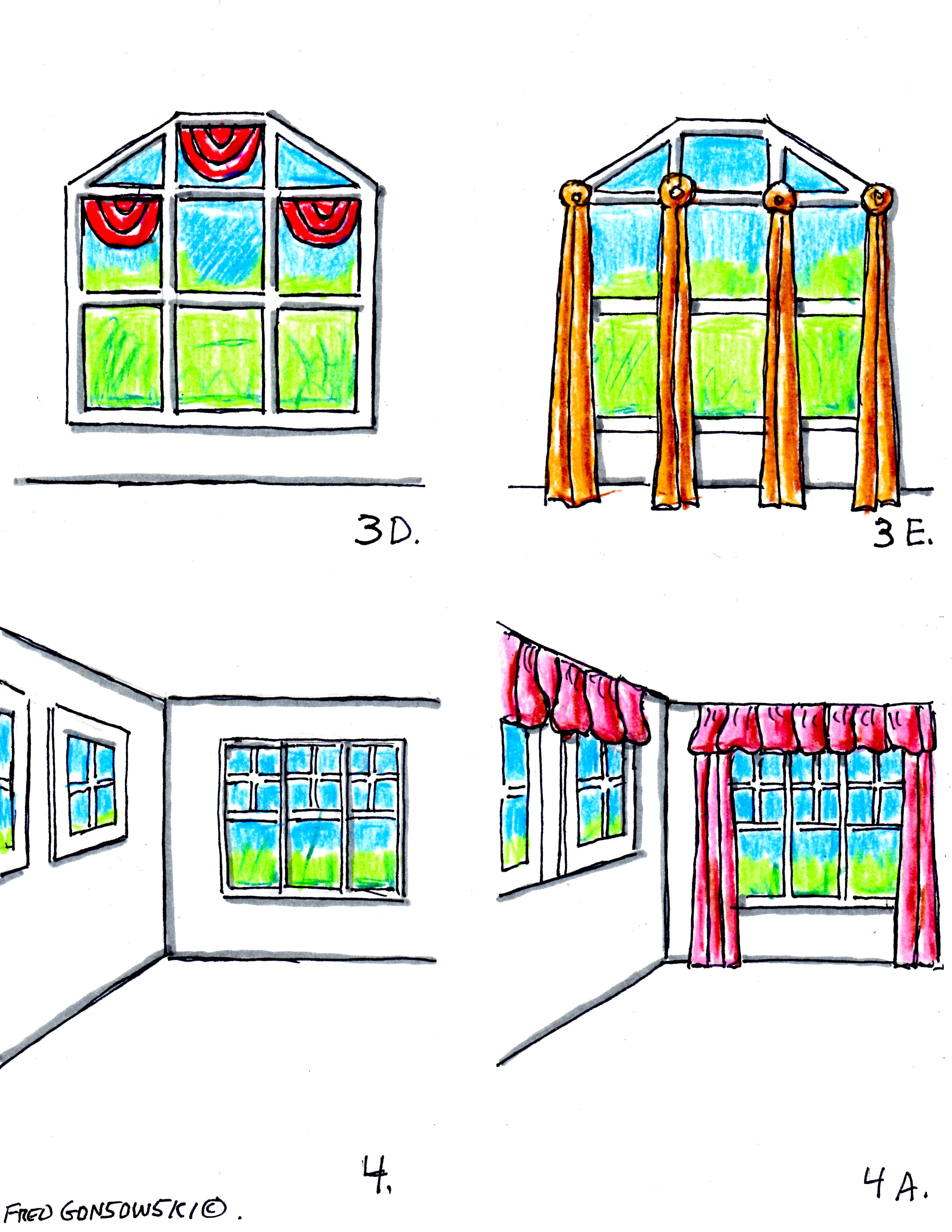 Hanging Valances Curtains And Drapes On Different Kinds