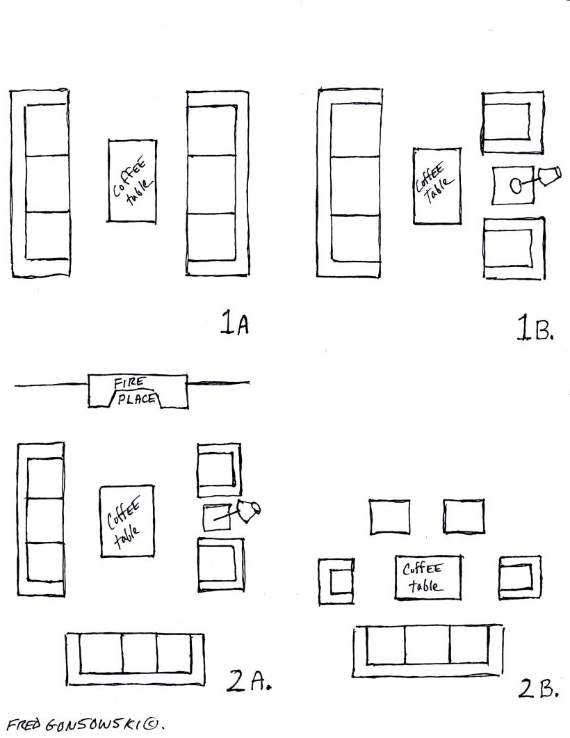 how to draw a loveseat