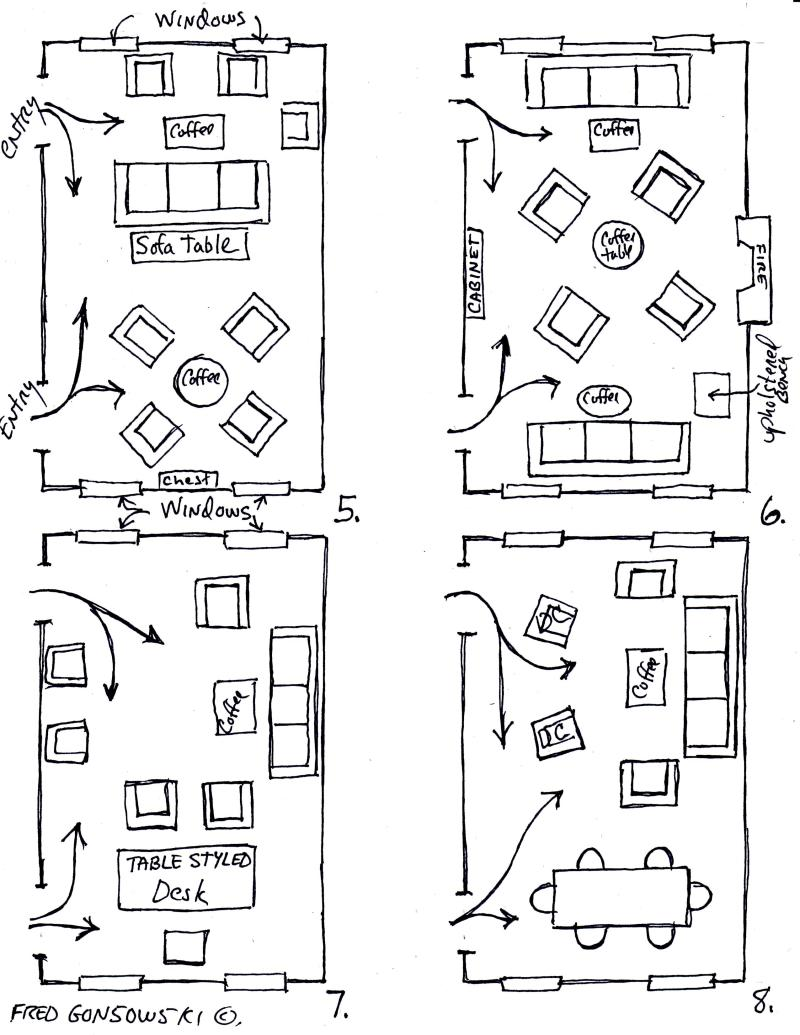 Diy furniture layout templates pdf download free simple for Square room furniture placement