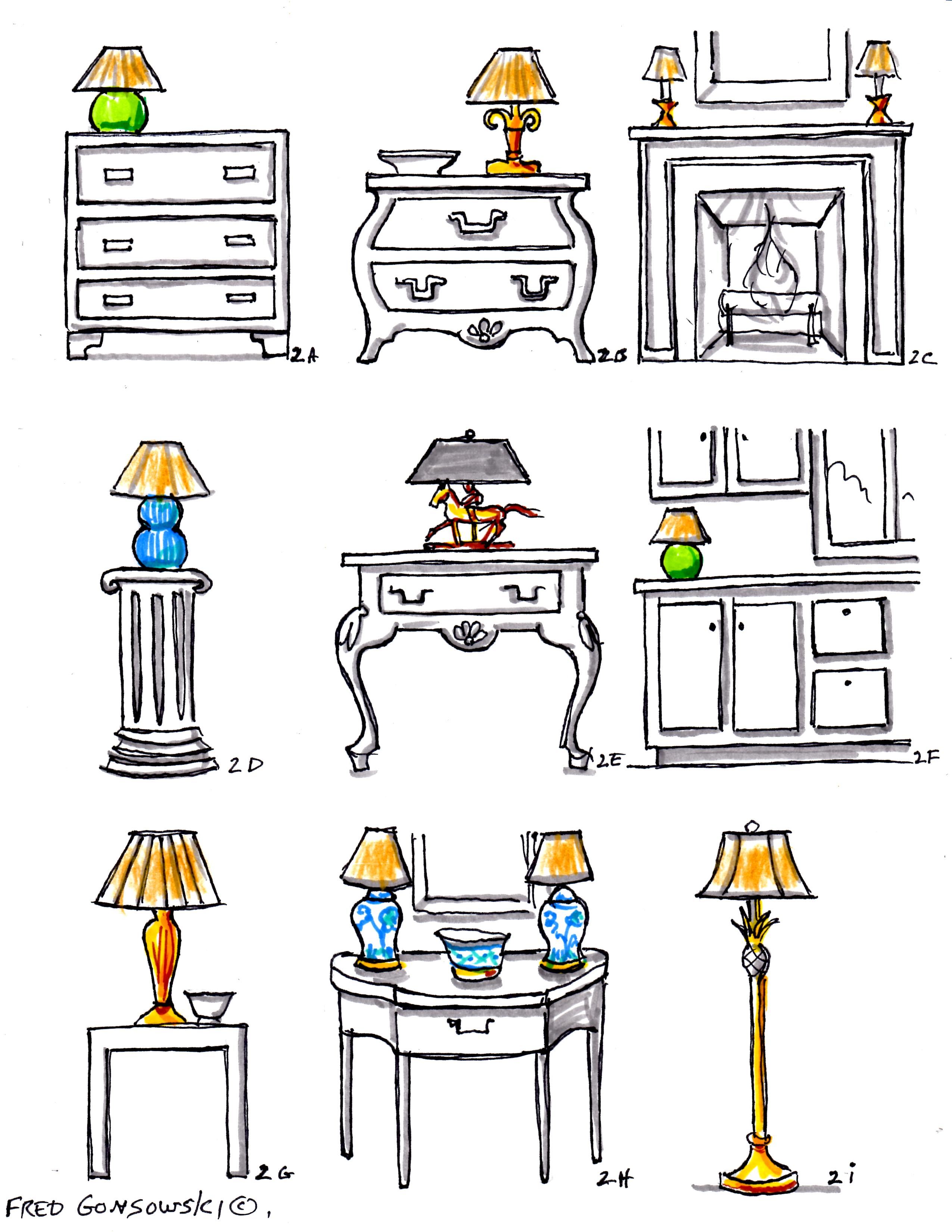 Interior Decorating With Accent Lamps Fred Gonsowski