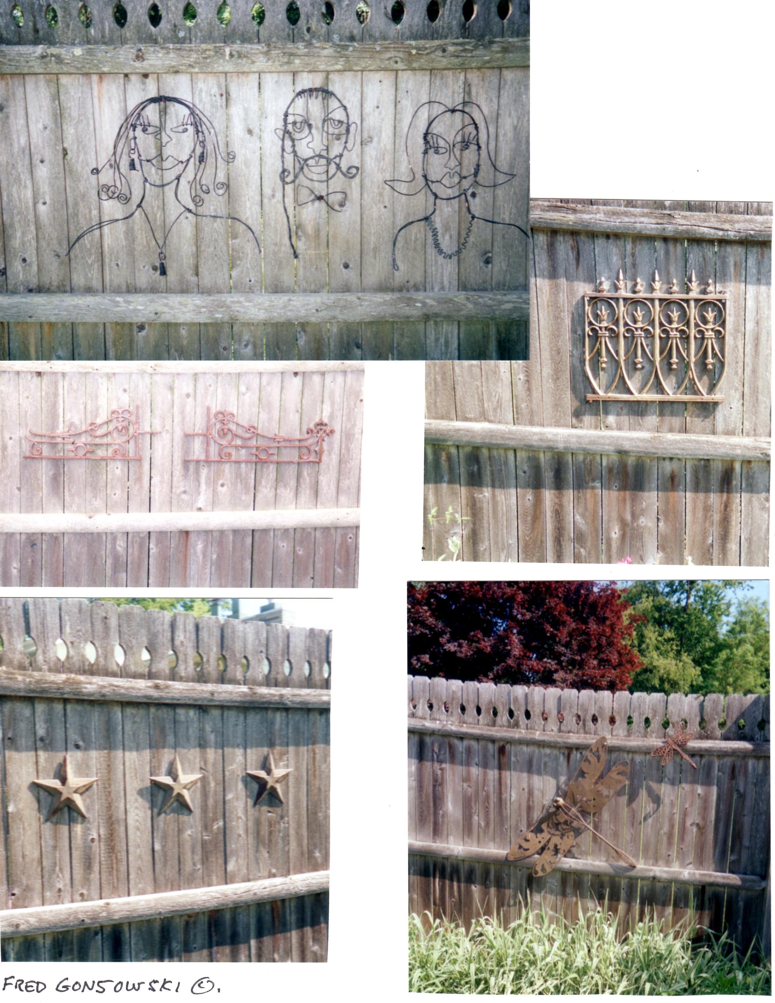 Ornamental garden walls - If You Have A Wooden Fence Like I Do Or Possibly A Brick Or Stone