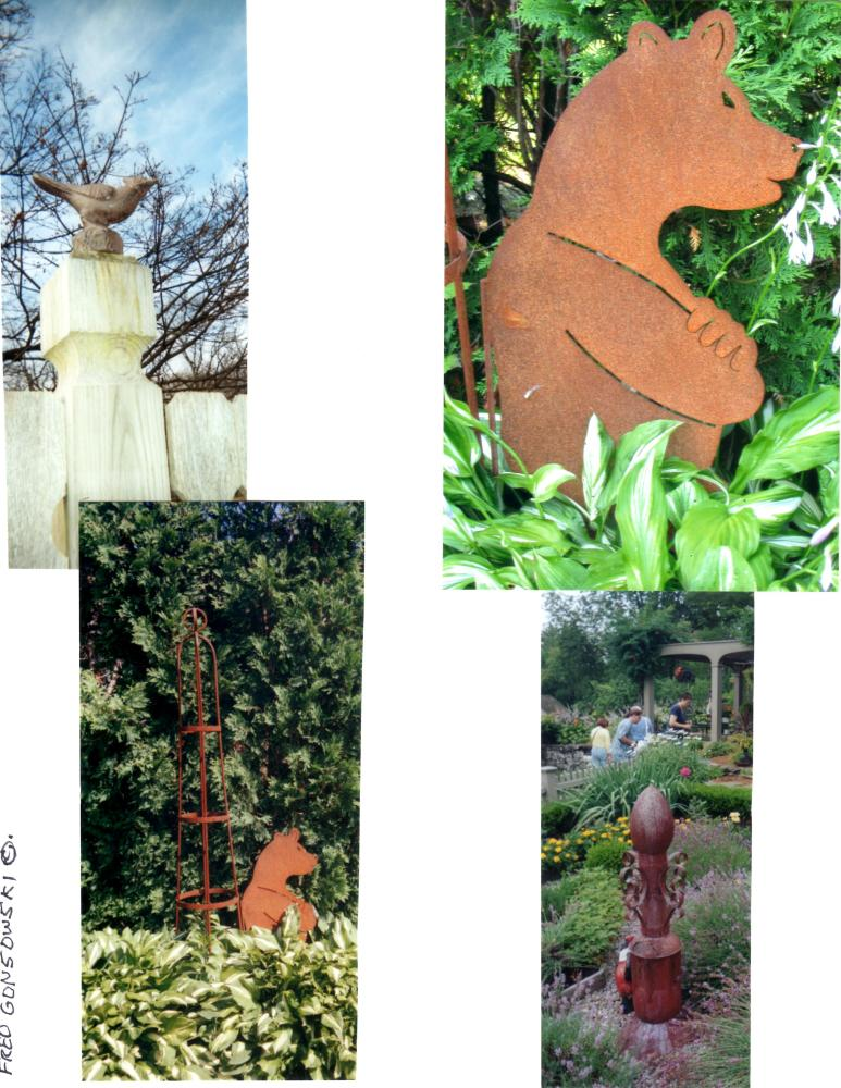 Some ideas about using Garden Ornaments, they add that Finishing Touch to a Garden (4/6)