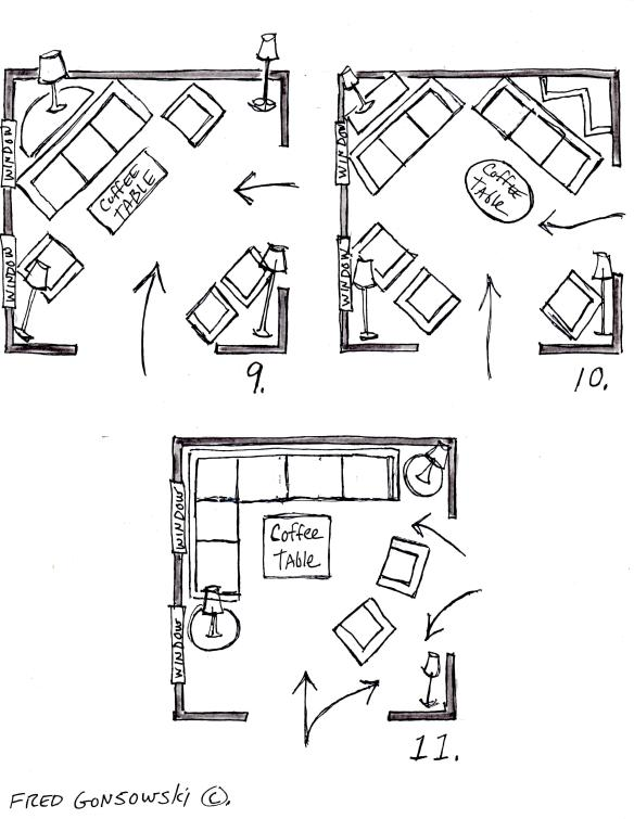 It's EASY to Arrange Furniture in a Square Living Room, some