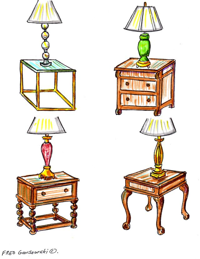 Picking the right styled table lamp to go with your end table