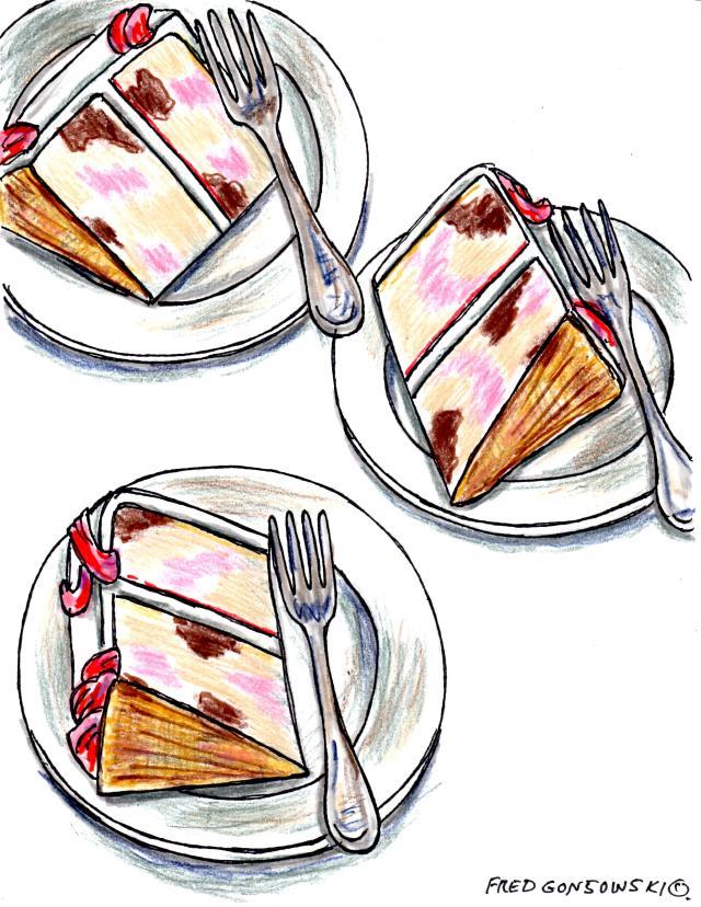 Have a Piece of Celebratory Cake it's VIRTUALLY calorie free ;-}