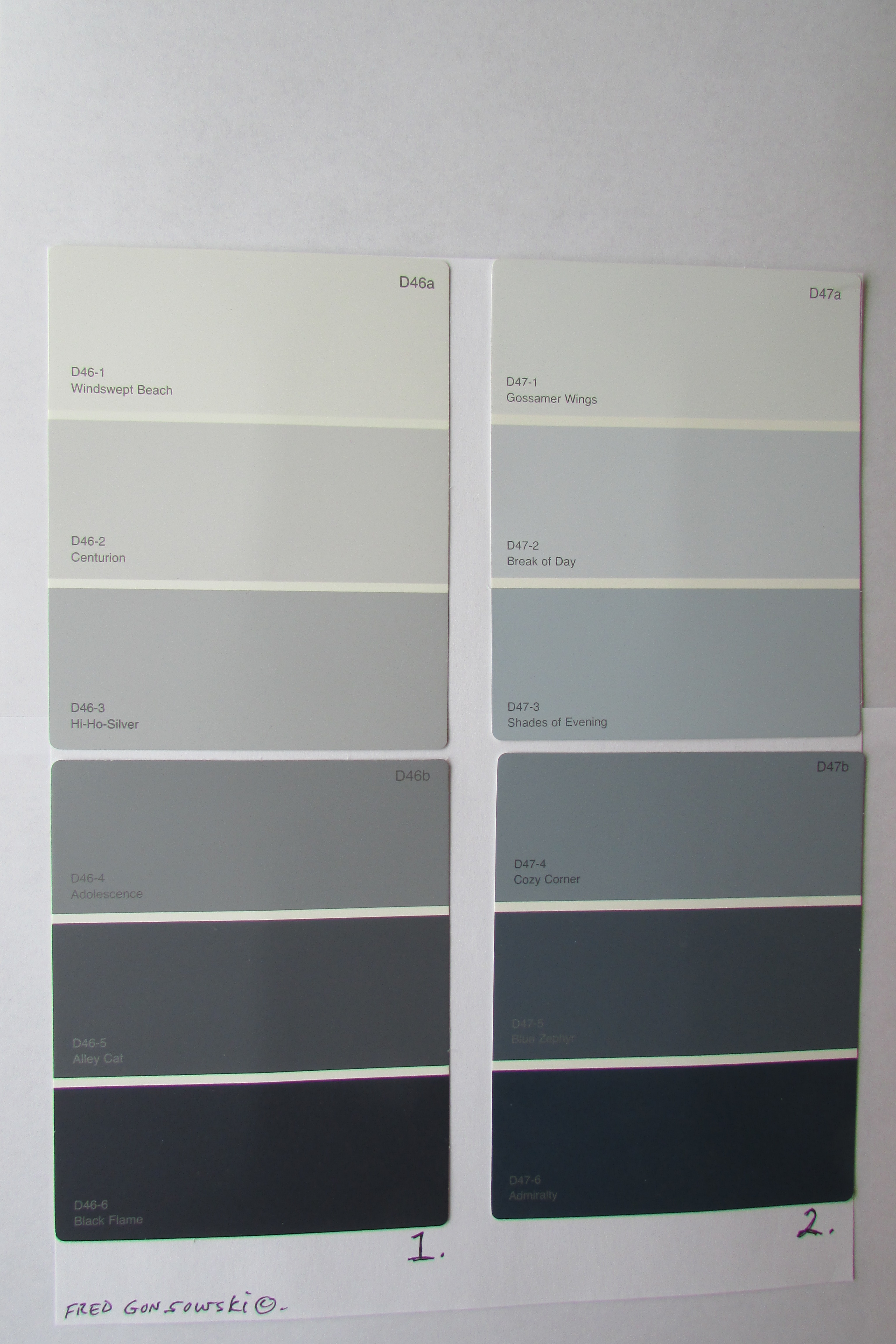 How to pick the perfect gray paint a popular color Different colours of grey paint
