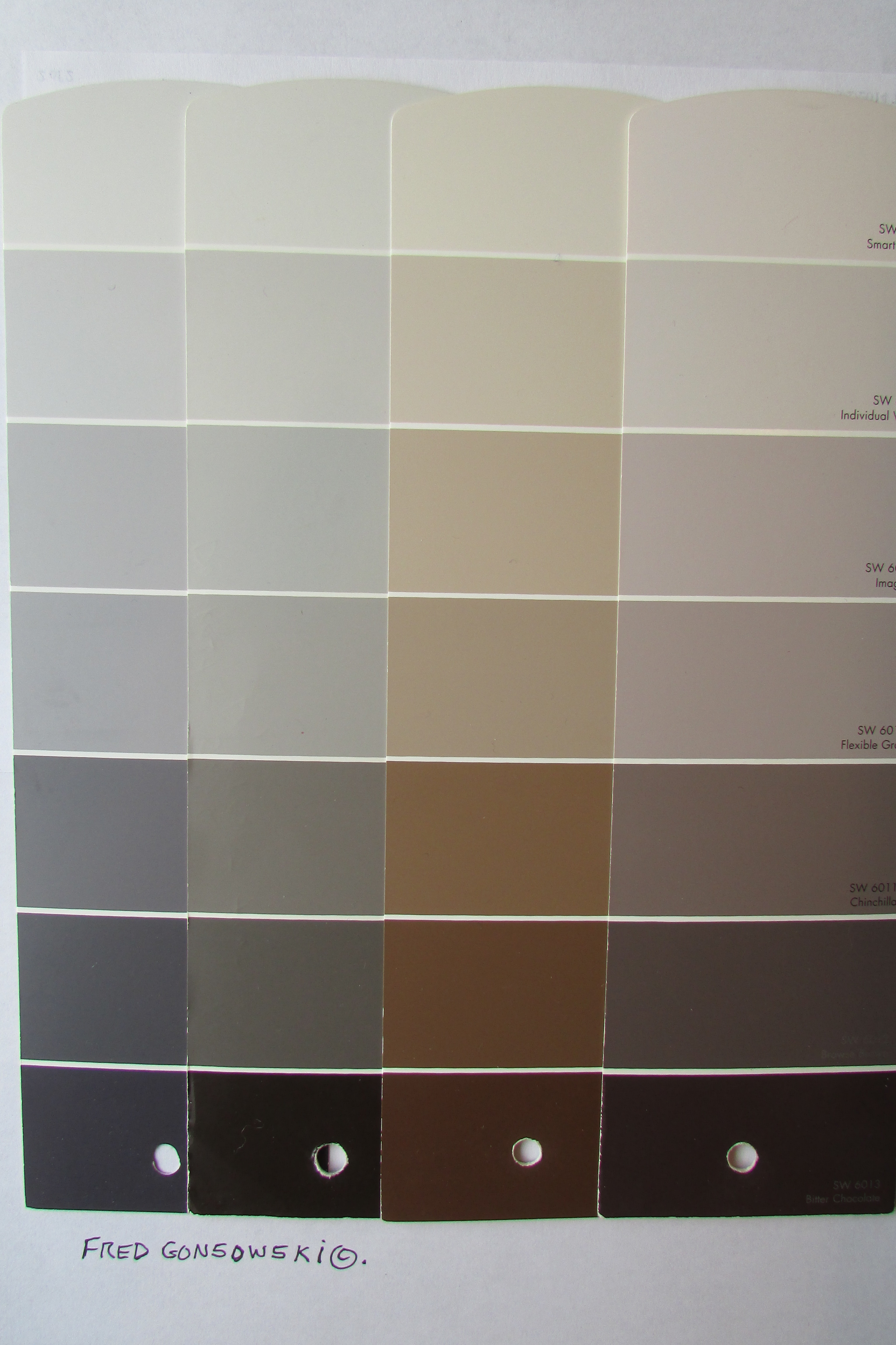 Picking paint colors for a small house condominium or for Shades of neutral colors