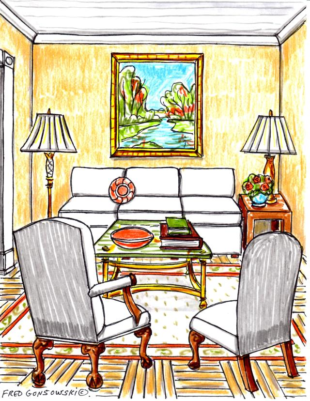 Some things to think about when decorating a small house, condominium or apartment.