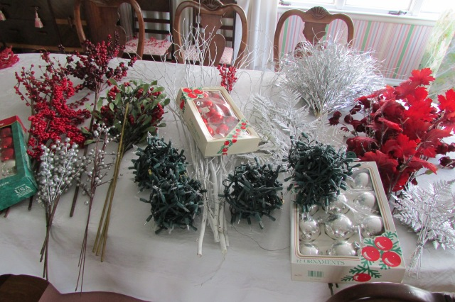 Some ideas for storing Christmas Decorations.