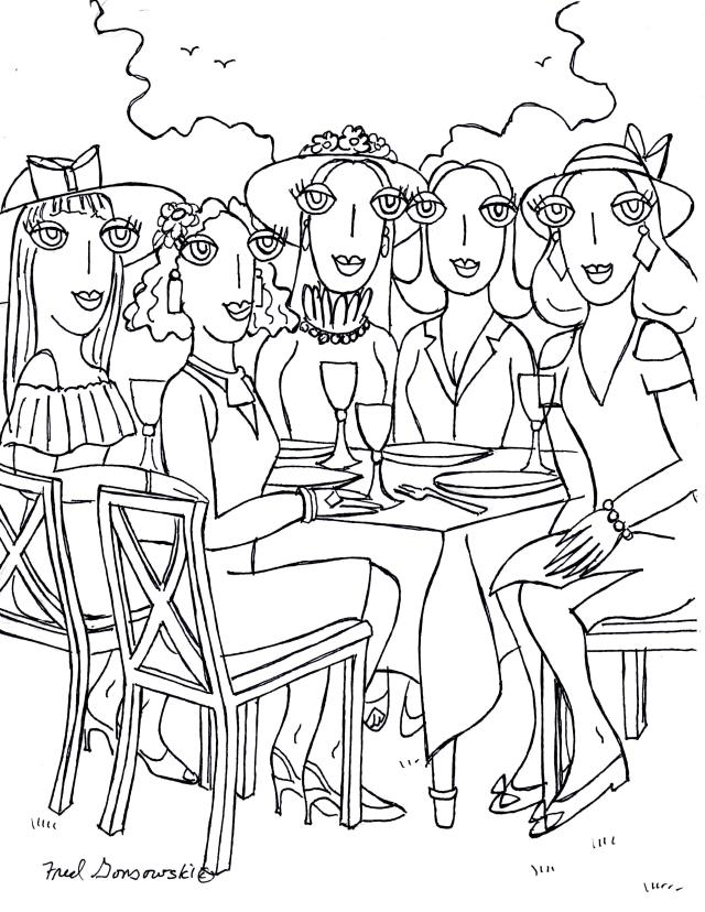 Ladies who do Lunch